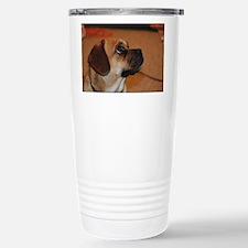 Dog-puggle Stainless Steel Travel Mug