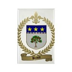 BRAULT Family Crest Rectangle Magnet (10 pack)