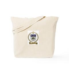 BRAULT Family Crest Tote Bag