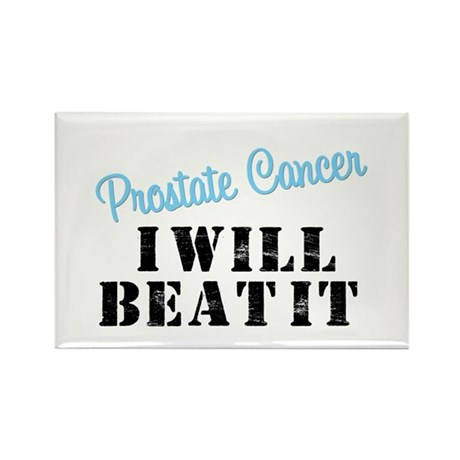Prostate Cancer I Will Beat It Rectangle Magnet
