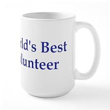 World's Best Volunteer Mug