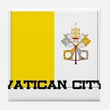 I Love Artichokes Tile Coaster