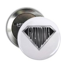 "SuperGrandma(metal) 2.25"" Button (100 pack)"