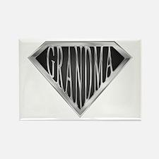 SuperGrandma(metal) Rectangle Magnet (100 pack)