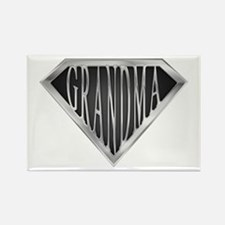 SuperGrandma(metal) Rectangle Magnet (10 pack)