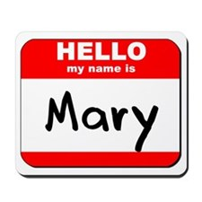 Hello my name is Mary Mousepad