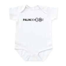 Palin Democrat 08 Infant Bodysuit