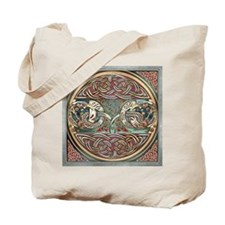 Celtic Gryphons Tote Bag