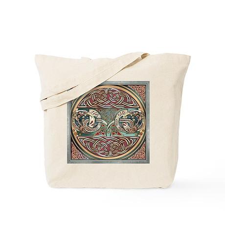 Celtic Gryphons Tote Bag