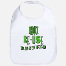 Reduce/Re-use/Recycle Bib