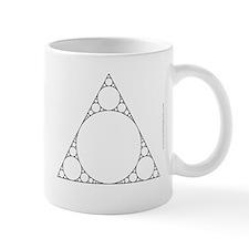 Triangle-Circle Fractal Mug