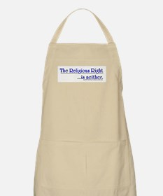 Religious Right is Neither BBQ Apron