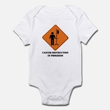 Cancer destruction in progress Infant Bodysuit