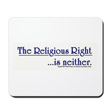 Religious Right is Neither Mousepad