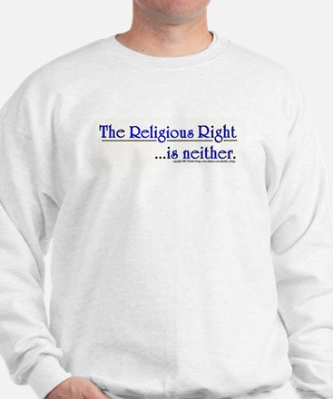 Religious Right is Neither Sweatshirt