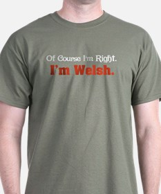 I'm Welsh T-Shirt
