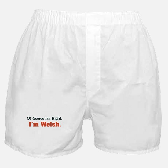 I'm Welsh Boxer Shorts