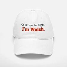 I'm Welsh Baseball Baseball Cap