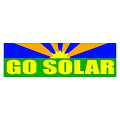 Go Solar (bumper sticker)