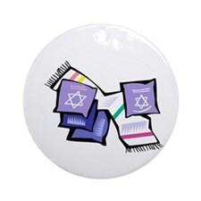 Scarf & Pillows Ornament (Round)