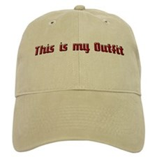 Nudist Outfit Baseball Cap