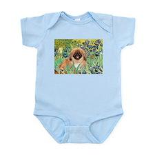 Irises / Pekginese (#1) Infant Bodysuit