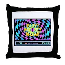 Mass Media 2 too Throw Pillow