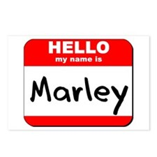 Hello my name is Marley Postcards (Package of 8)