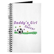 Daddy's Soccer Girl Journal