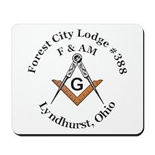 Forest City Lodge No. 388 F&A Mousepad