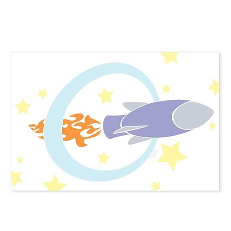 Rocket Kids Postcards (Package of 8)