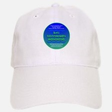 Funny Ban Dihydrogen Monoxide H20 Baseball Baseball Cap
