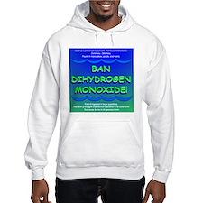 Funny Ban Dihydrogen Monoxide H20 Hoodie
