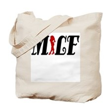 Cute I heart milfs Tote Bag