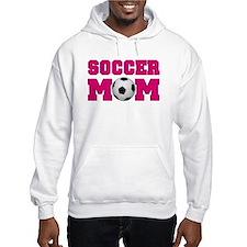 Soccer Mom - Hot Pink Hoodie