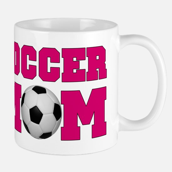 Soccer Mom - Hot Pink Mug