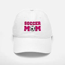 Soccer Mom - Hot Pink Baseball Baseball Cap