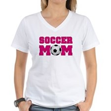 Soccer Mom - Hot Pink Shirt