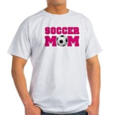 Soccer Mom - Hot Pink T-Shirt