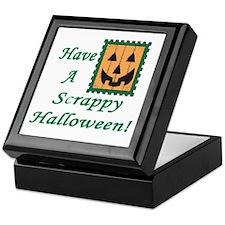 Scrapbooking Halloween Keepsake Box