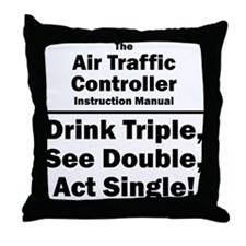 Air Traffic Controller Throw Pillow