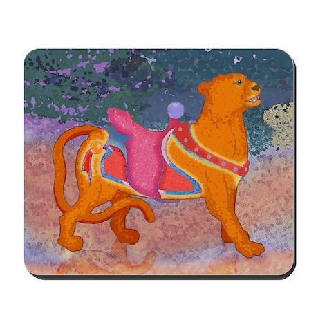 Carousel Tiger Mousepad