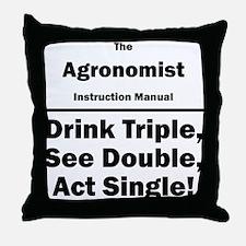 Agronomist Throw Pillow