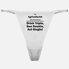 Agriculturist Classic Thong
