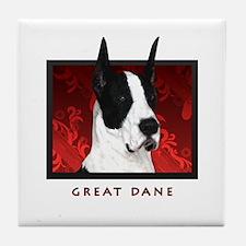 Great Dane Tile Coaster