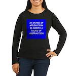 engineer engineering Women's Long Sleeve Dark T-Sh