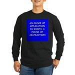 engineer engineering Long Sleeve Dark T-Shirt
