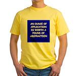 engineer engineering Yellow T-Shirt