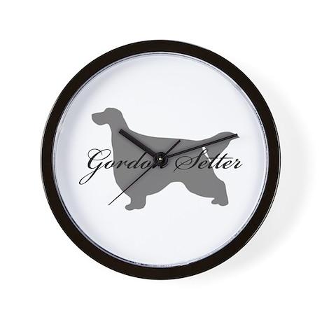 Gordon Setter Wall Clock