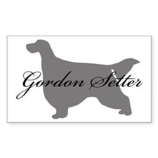 Gordon Setter Rectangle Decal
